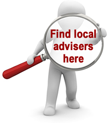 Find an adviser near me