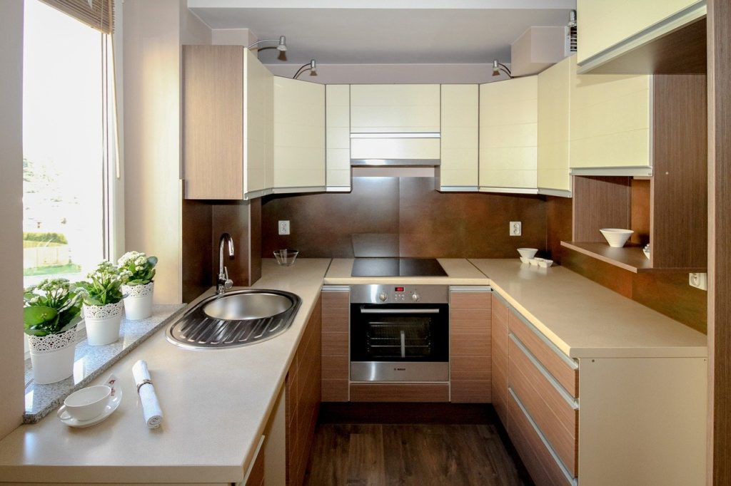 kitchen, kitchenette, apartment