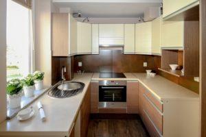 kitchen, kitchenette, apartment