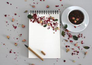 notebook, note, write