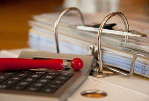 workbook, bills, accounting